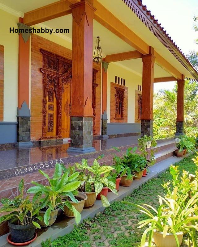 Rumah Kampung Minimalis : rumah, kampung, minimalis, Inspirasi, Teras, Rumah, Kampung, Tidak, Kampungan, Homeshabby.com, Design, Plans,, Decorating, Interior