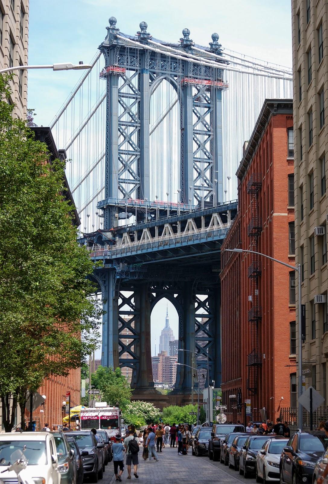 new york itinerary guide plan manhattan bridge dumbo brooklyn empire state building