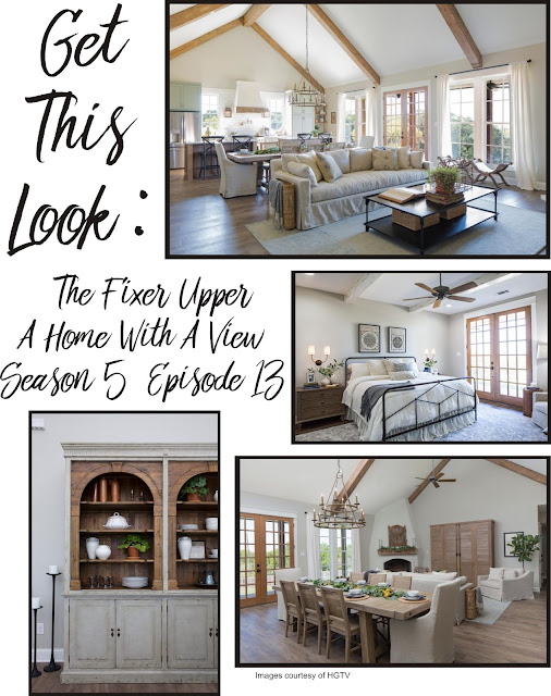 my magnolia home get this look fixer upper a home with a view s5 ep13. Black Bedroom Furniture Sets. Home Design Ideas