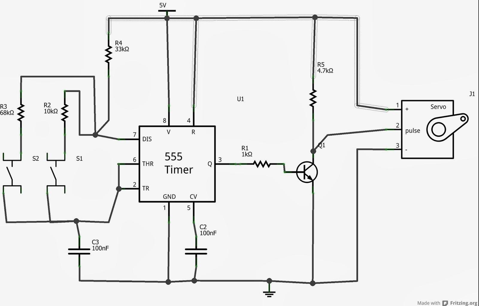 Tutoriais Circuitos Eletronicos Vii Testador De Motores Servos Utilizando 555