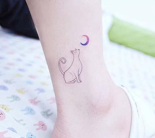 kedi dövmeleri cat tattoos 4