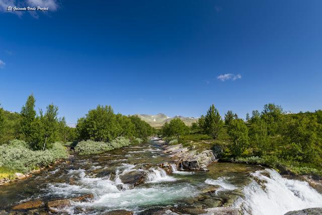 Brudesloret, ruta en Rondane - Noruega