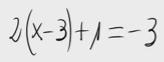 11. Ecuación de primer grado (propiedad distributiva)
