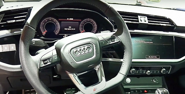 2020-Audi-RS-Q3-Sportback-interior-steering wheel-screen-display