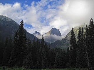 Arrow Peak and Vestal Peak