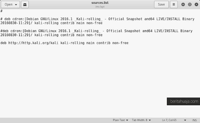 How to add Kali Linux Repository Rolling 2016.1 2016.1 2017.1 2017.2 2.0 Kali Kali Linux Sana Moto Linux 1.0
