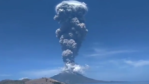 Adanya Erupsi Gunung Ile Ape, Begini Himbauan Kapolres Alor Kepada Masyarakat