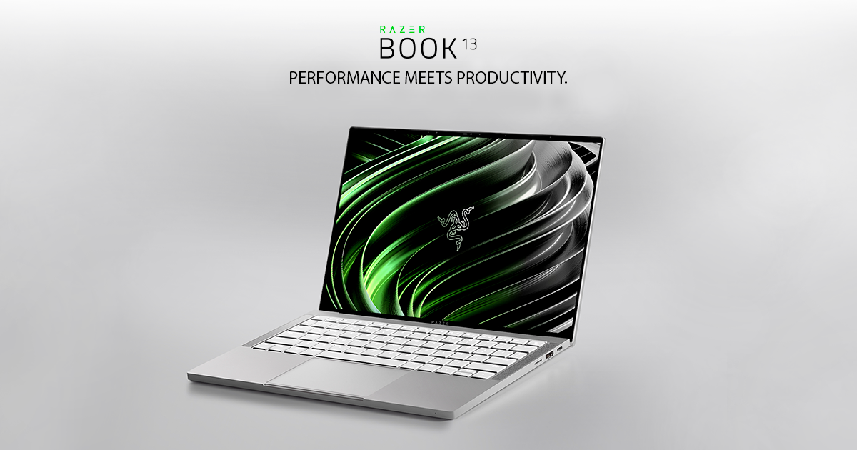 THE NEW RAZER BOOK 13