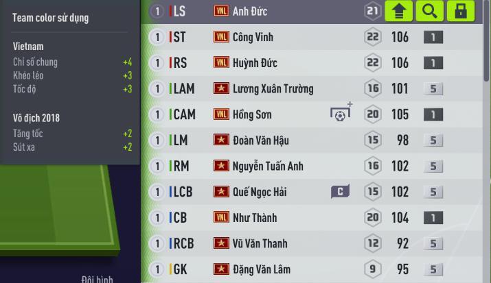 FIFA ONLINE 4| Review sơ bộ mùa thẻ Việt Nam Legends - Những người hùng của bóng đá Việt Nam