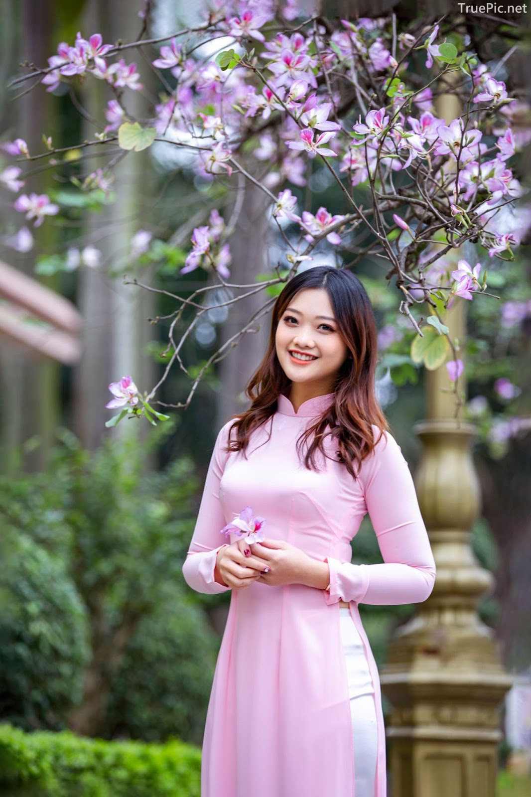 Dreamy purple of Ao Dai - Gentle and Soft of beautiful