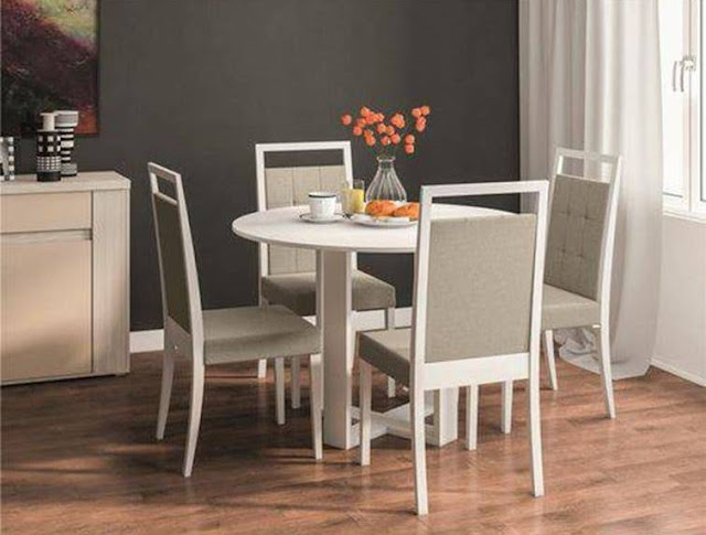 Mesa Redonda para sua Sala de Jantar 5