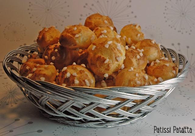 recette de chouquettes, comment faire des chouquettes, chouquettes simples, cuisiner des chouquettes