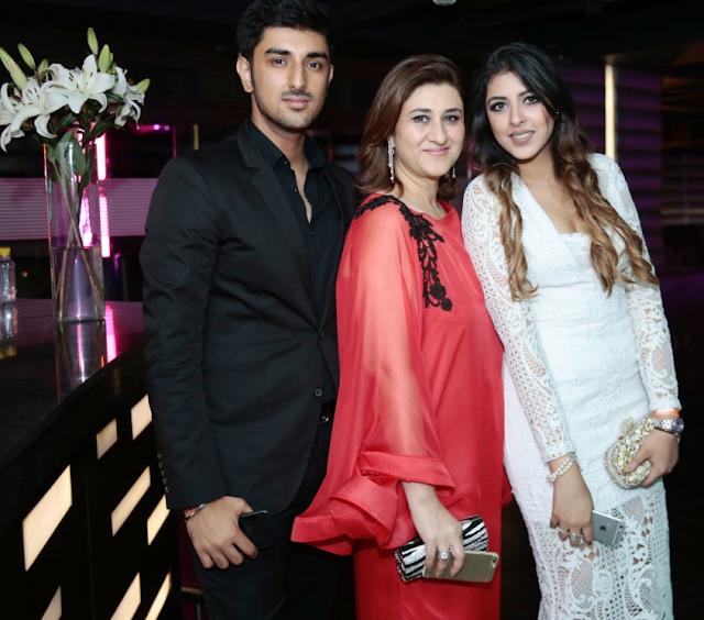 Ishaan Ghai, Surbhi Ghai and Ria Goel