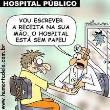 Hospital público sem papel