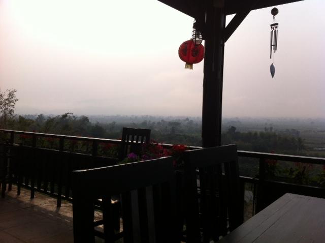 Breakfast in Tha Ton, North Thailand