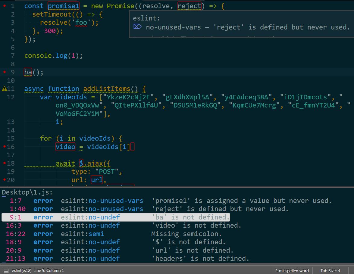 sublime-text-js-syntax-linter-eslint-2.png-Sublime Text 檢測 JS 最佳工具 ESLint﹍安裝 + 設定技巧
