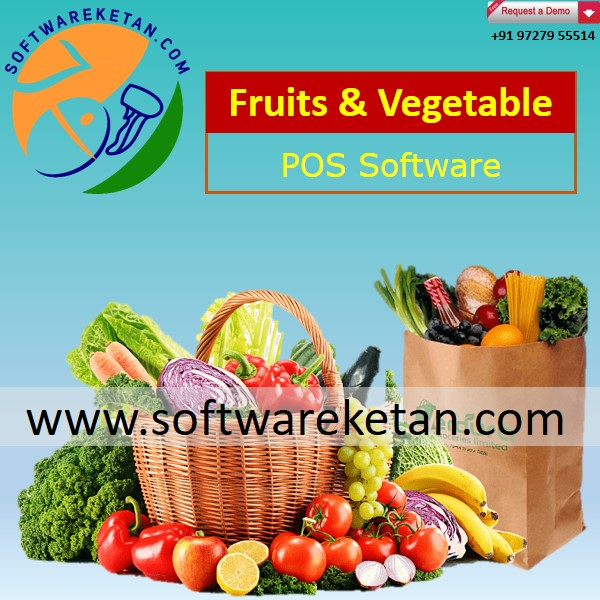 Touch POS Billing for Retail Store of Fruit N Vegetables with Weighing Scale Integration