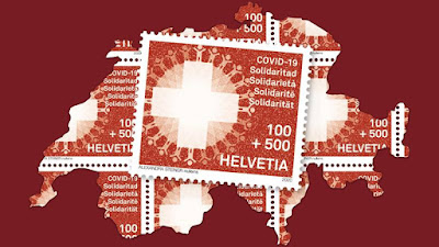 Swiss COVID-19 solidarity stamp