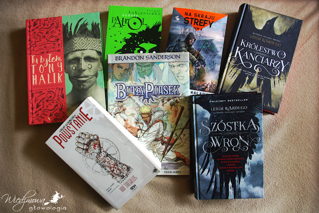 Wiedźmowa głowologia, książki, zdjęcia książek, recenzje książek