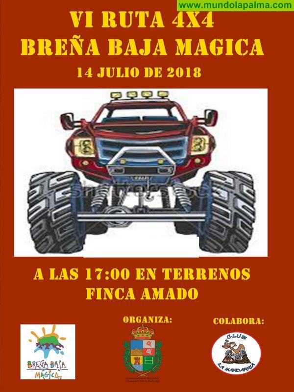 "SANTA ANA: VI Ruta 4 x 4 ""Breña Baja Mágica"""