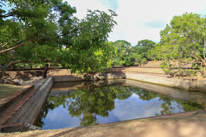 Ponds around Sigiriya, Sri Lanka
