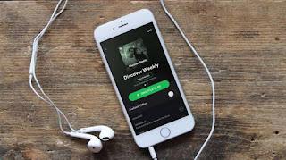 cara download lagu di spotify menggunakan data selular