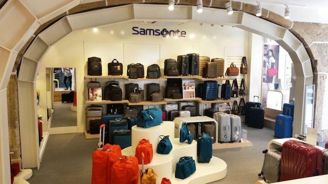 Loja Samsonite em Lisboa