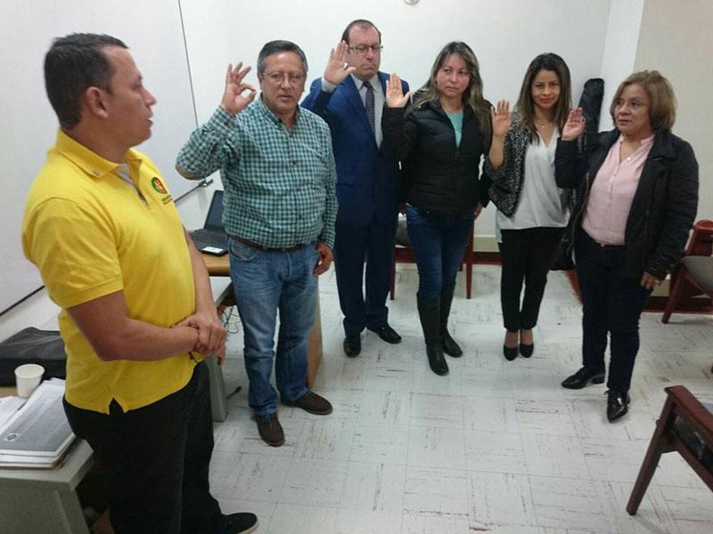 """""""Buscamos conformar una subdirectiva"""": nueva presidenta de Sinedian Tunja"""
