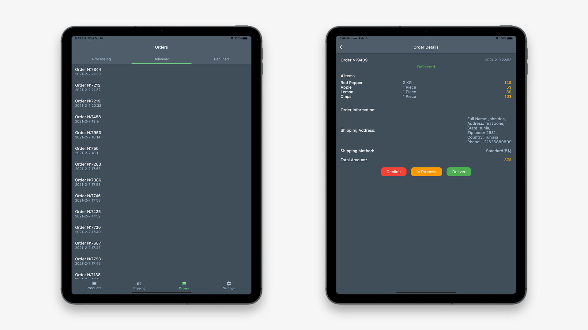 Flutter Grocery: Full Android + iOS eCommerce App - 28