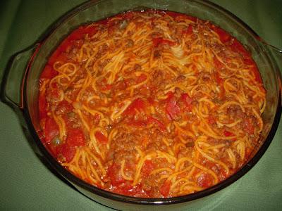 Spaghetti-casserole | Margaret's Morsels