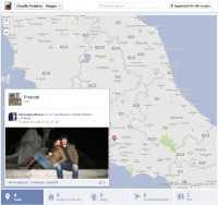 Aggiungere foto alla mappa di Facebook
