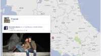 Creare la mappa geografica delle foto Facebook con i luoghi personali