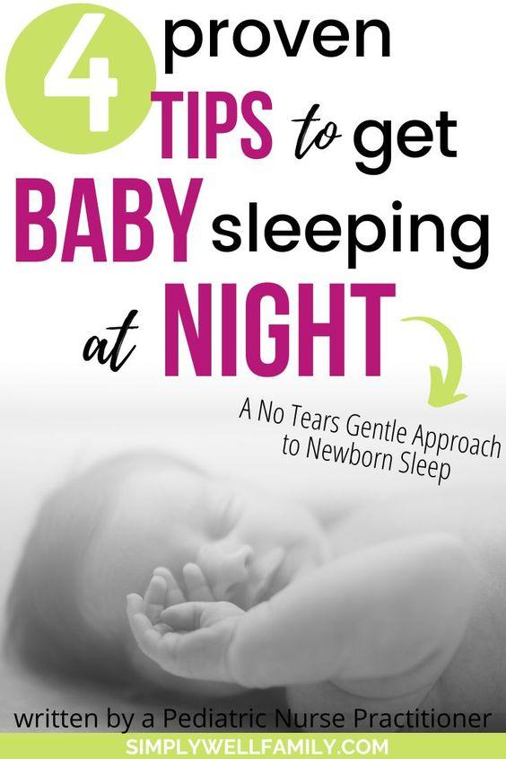 Baby Sleep Treatment: How to get baby through rem sleep