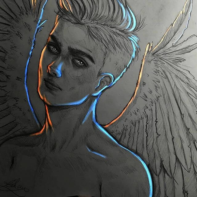 04-The-Angel-Drawings-Adam-Almahjoub-www-designstack-co