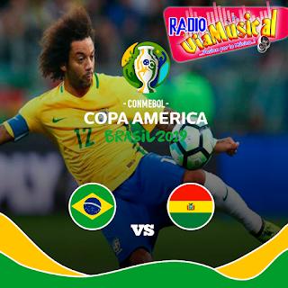 Brasil vs Bolivia EN VIVO