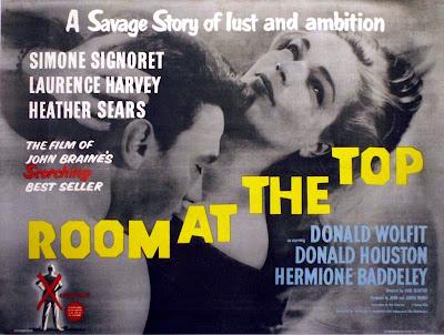 Resultado de imagem para room at the top poster