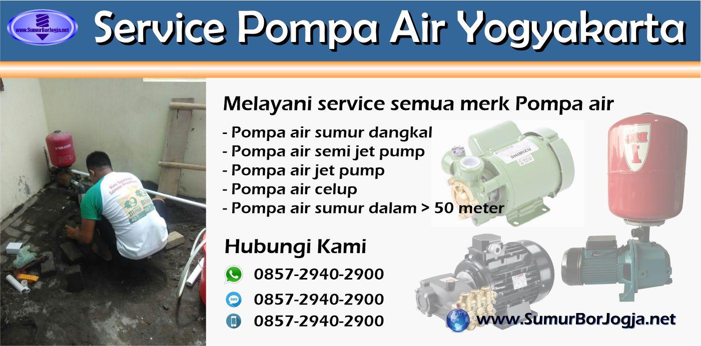 Service Pompa Air Gondomanan Yogyakarta