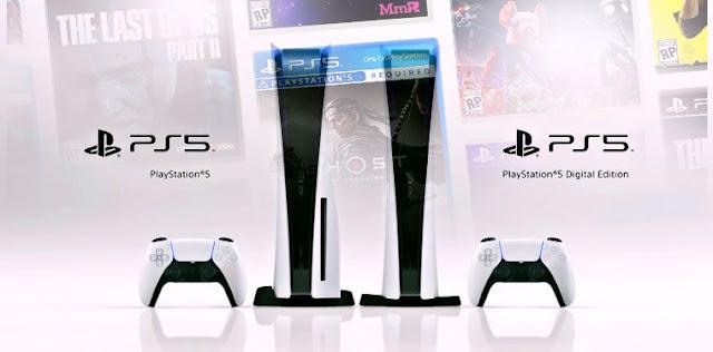 PlayStation 5 - اليوم شركة سوني تكشف عن سعر وشكل منصة الالعاب الجديدة PlayStation 5