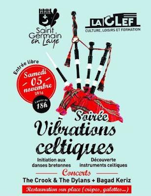 Soirée Vibrations celtiques-St Germain-en-Laye