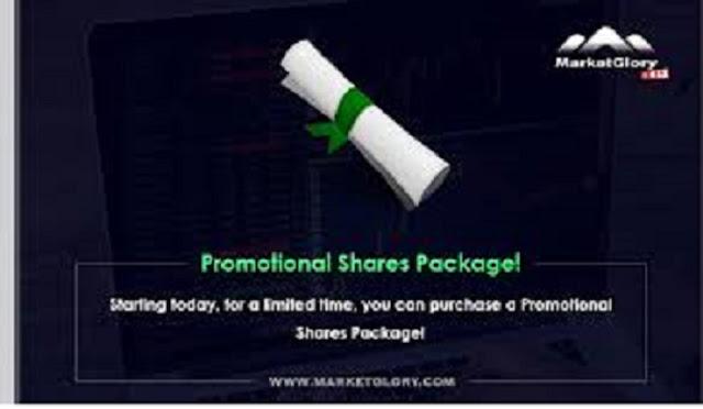 شرح الأسهم أو الشير في ماركت جلوري الربحية   MarketGlory Shares