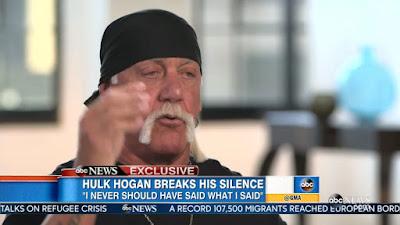 Hulk Hogan telah terlibat dengan skandal video