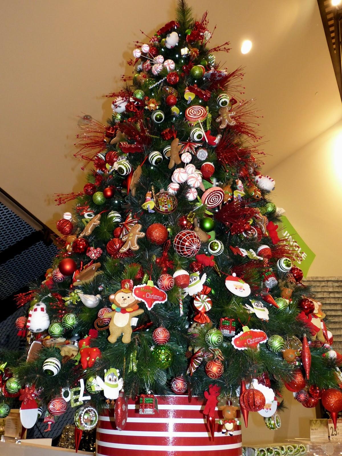 weihnachtsbaum amerikanisch schmcken - Christbaum Schmucken Beispiele