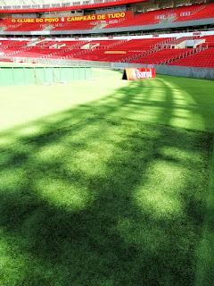 Aquecimento no Gramado do Estádio Beira-Rio