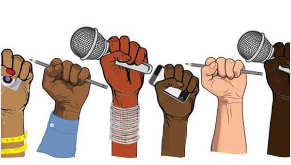 Human rights and freedom of the press and speech