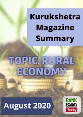 Kurukshetra Magazine Summary: August 2020