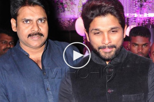 Pawan Kalyan And Allu Arjun Cold War at Talasani Daughter Wedding