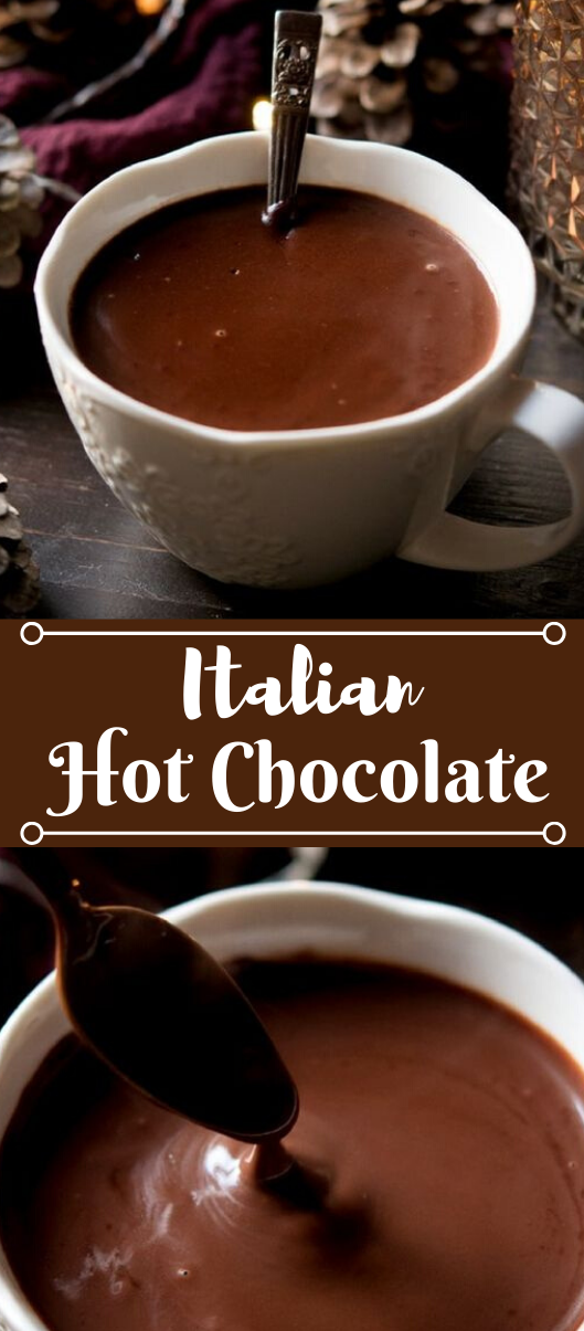 Italian Hot Chocolate #drink #chocolate #sangria #hot #recipes