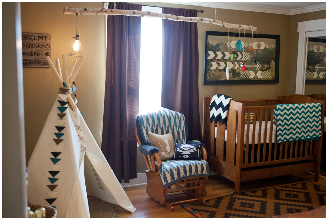 Fawn Over Baby: Amazing Tribal Themed Nursery By Leslie