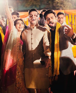Mariam Ansari and Owais Khan's wedding