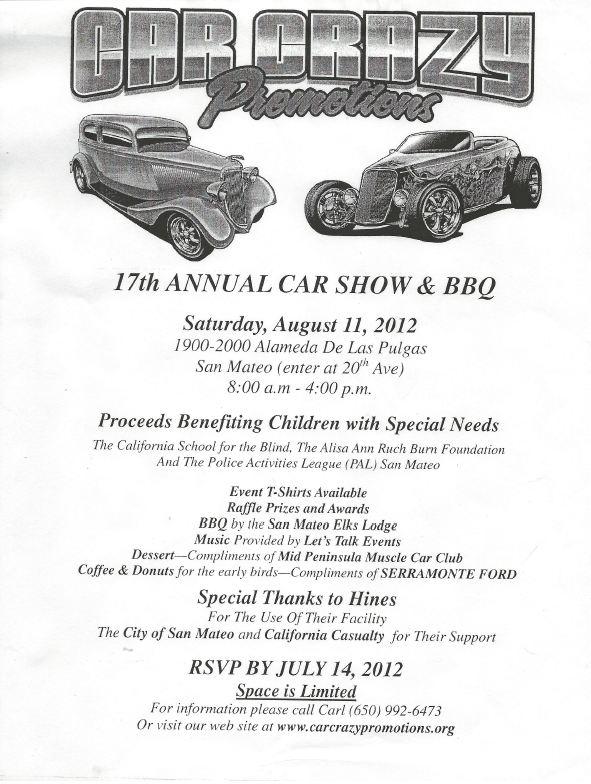 Steve's Camaro Parts: 17th Annual Car Show & BBQ